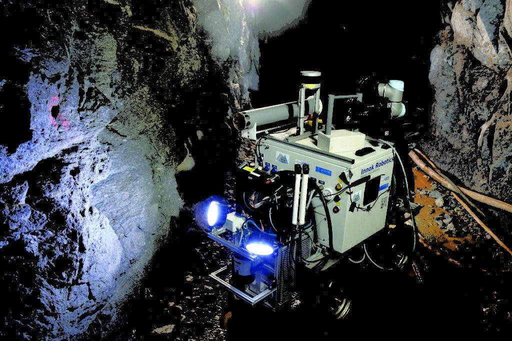 IoT and robotics in mining