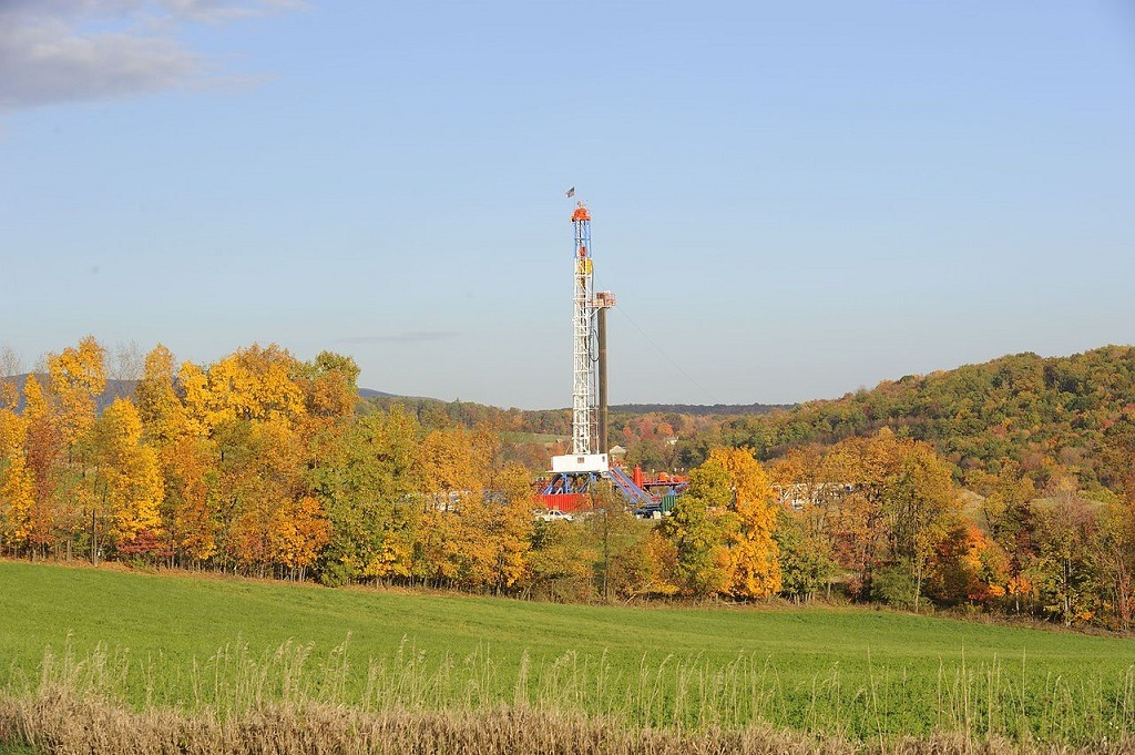 top natural gas countries